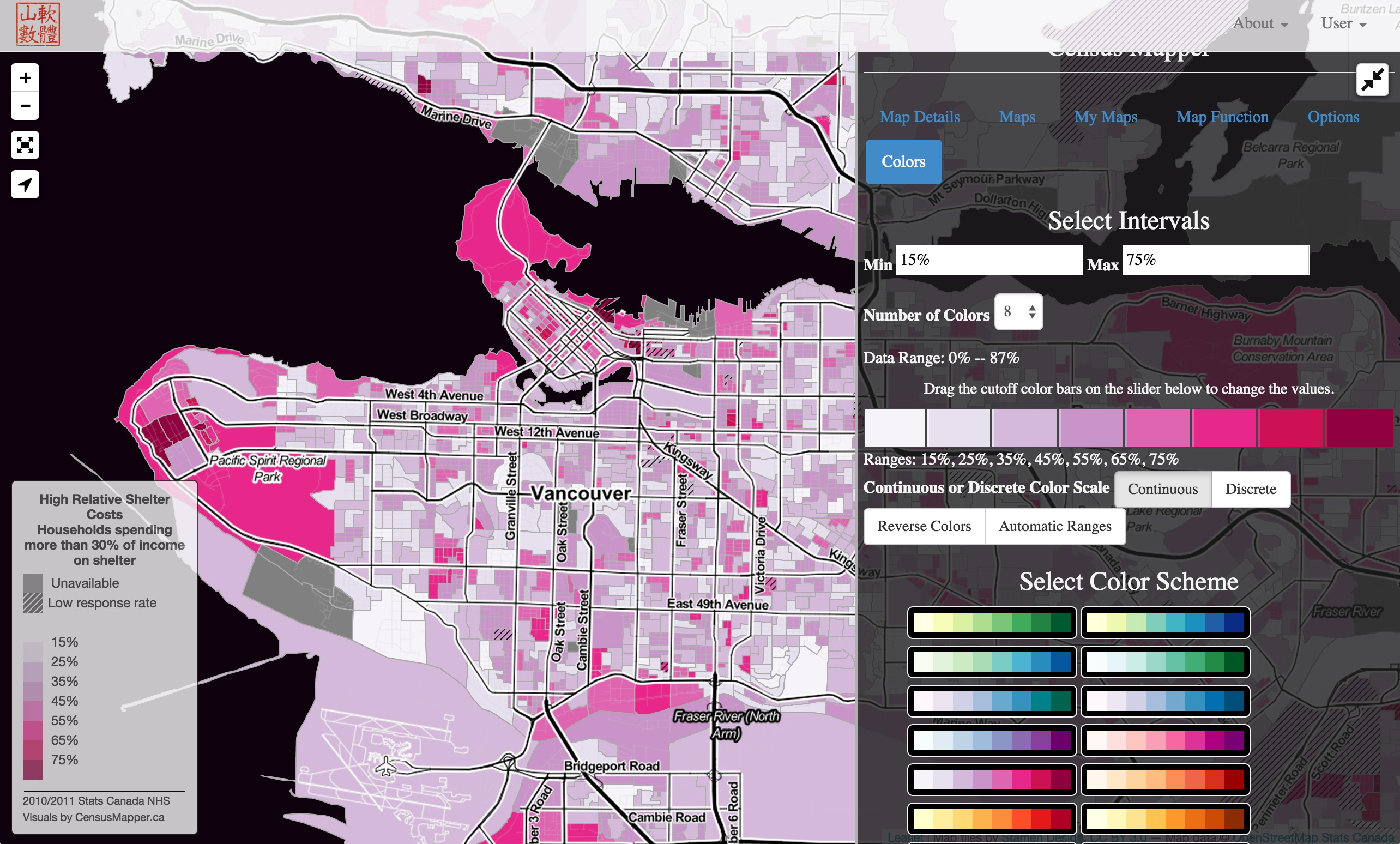 Census Mapper on